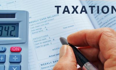 فرض الضرائب