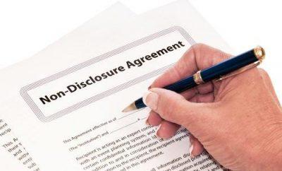اتفاقية عدم الافصاح