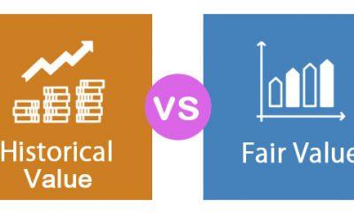 الفرق ما بين محاسبة التكلفة التاريخية ومحاسبة القيمة العادلة
